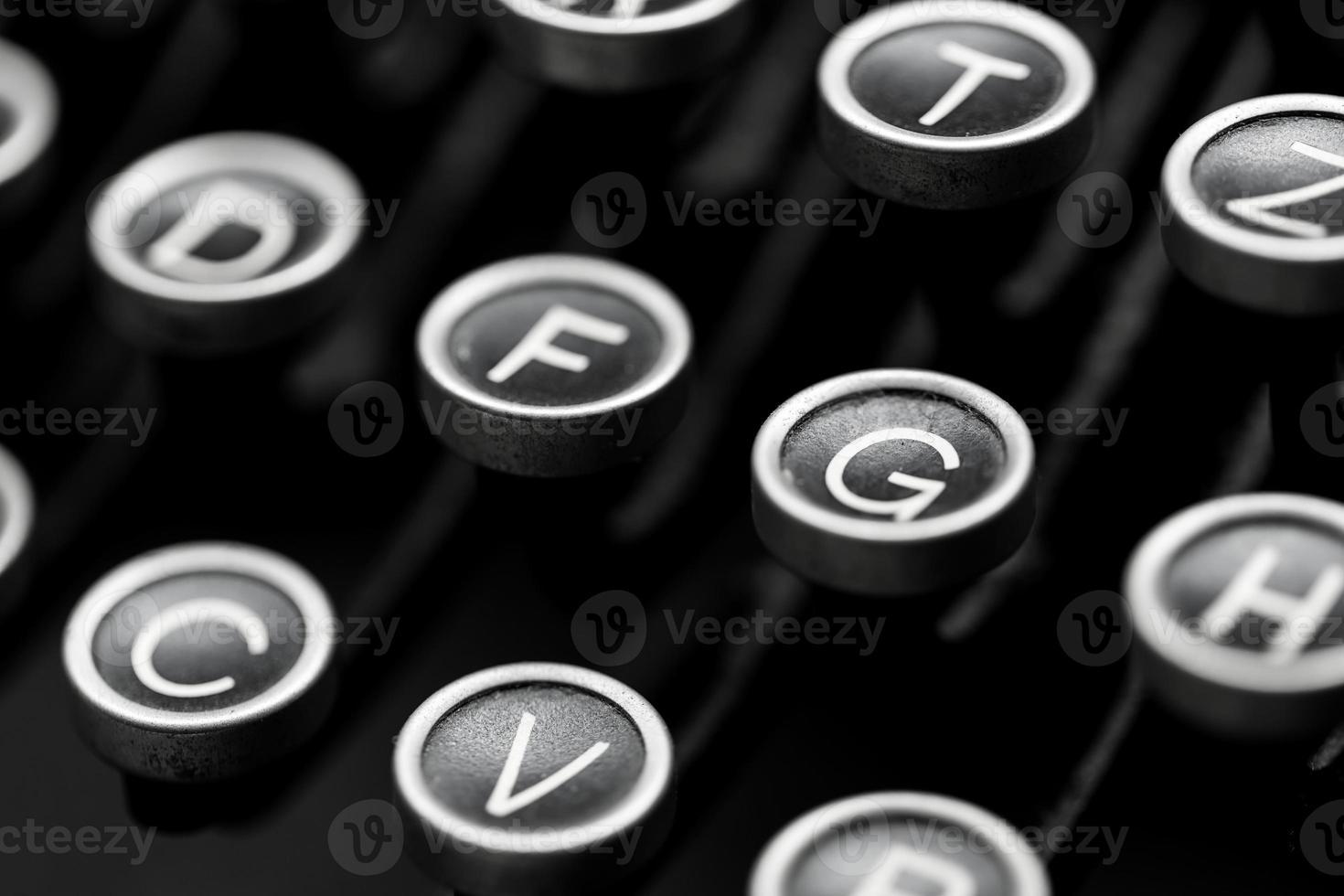 schrijfmachinesleutels foto