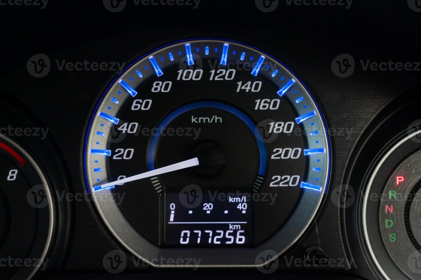 auto snelheid dashboard foto