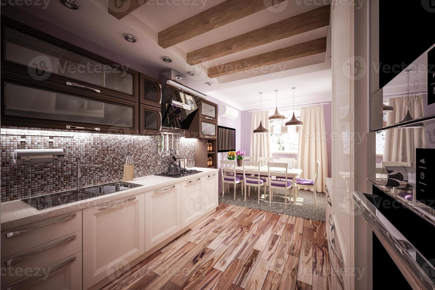 aangepaste keuken foto