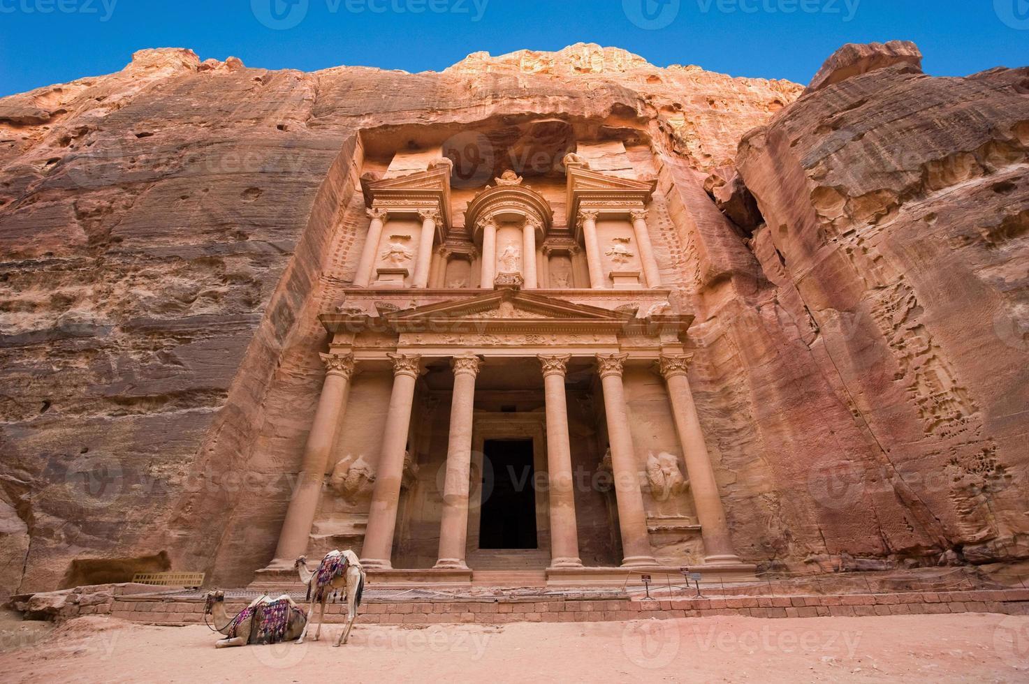 petra in Jordanië foto