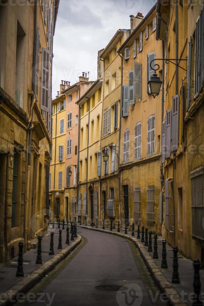 rue étroite française foto