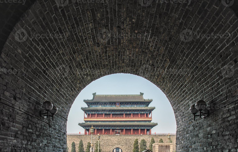 Zhengyangmen poort foto