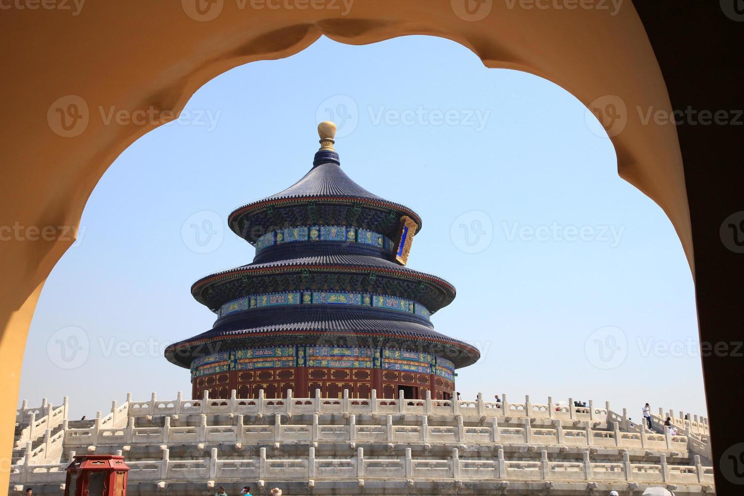 tempel van de hemel, beijing, china foto