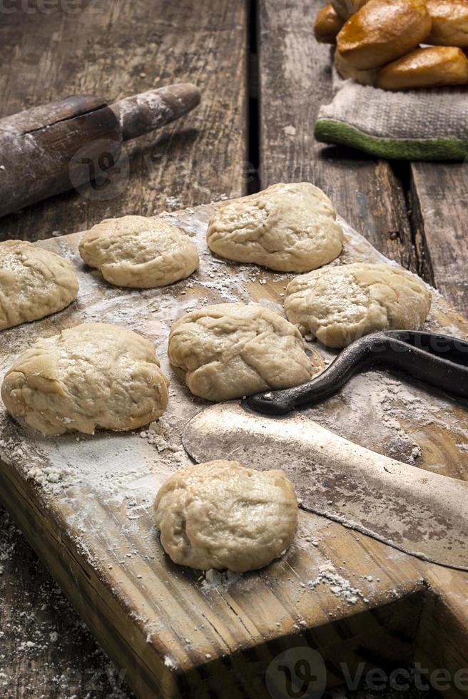 vers gemaakte koekjes foto