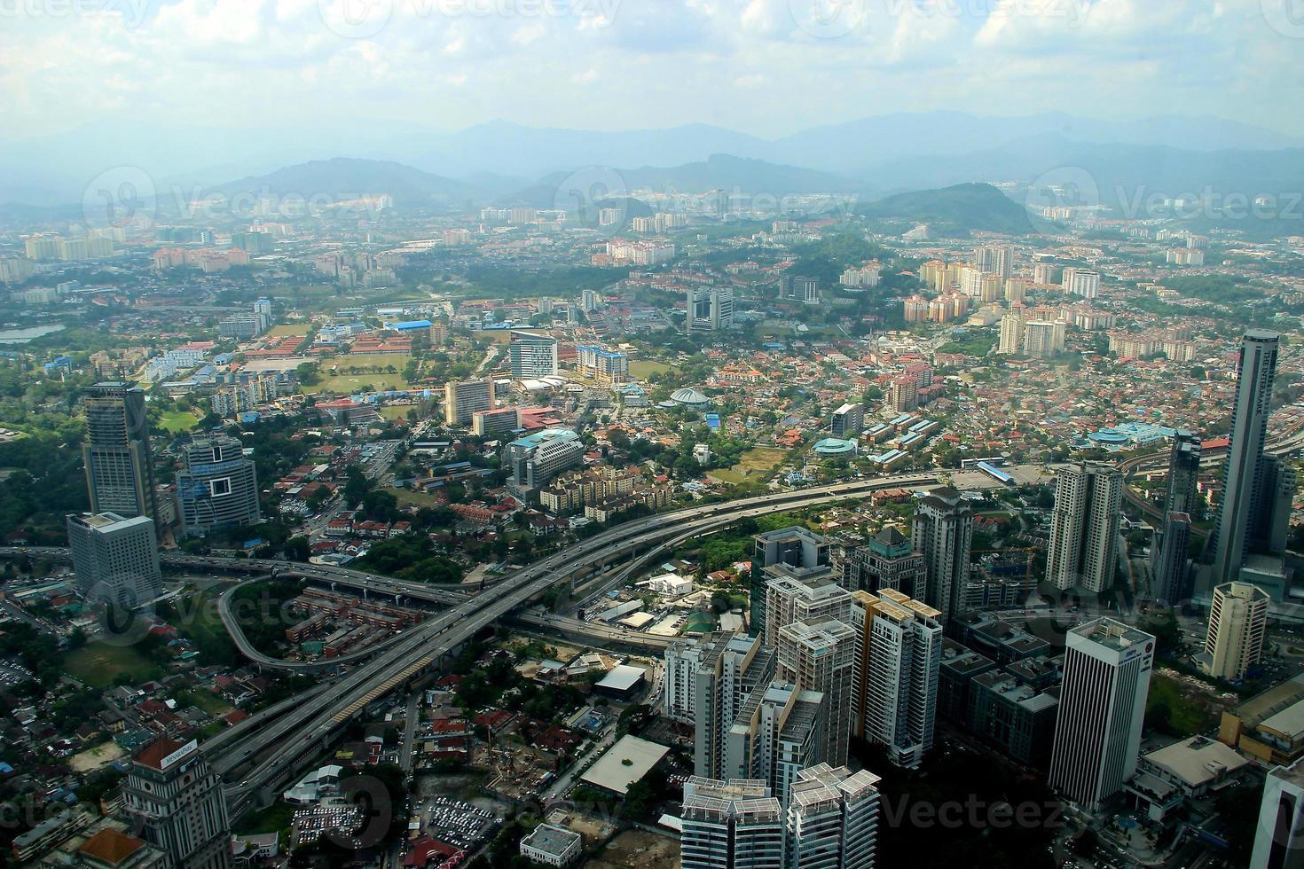 stadsgezicht - Kuala Lumpur, Maleisië foto
