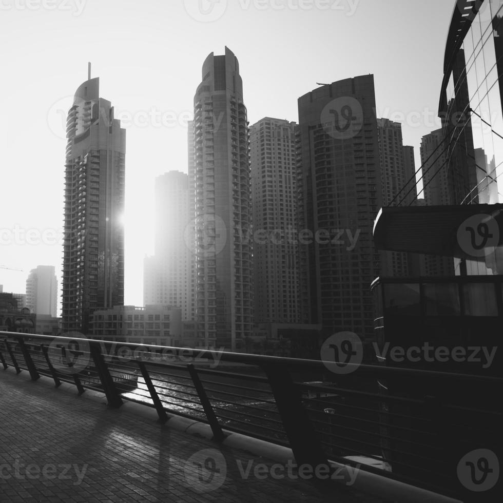 stalen schoonheid van emiraten. foto