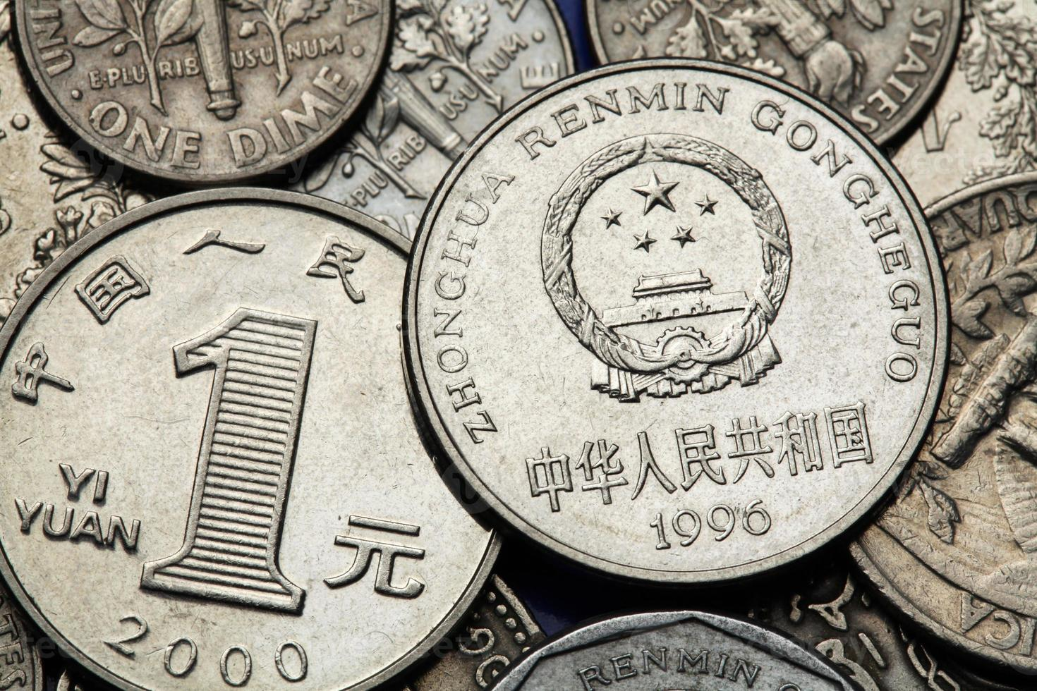 munten van China foto