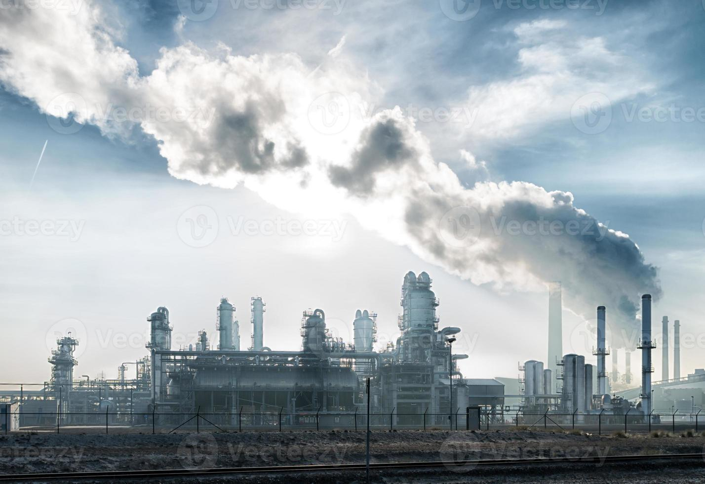 petrochemische fabriek foto