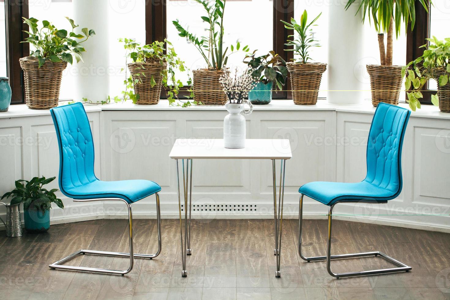 conceptuele caféstoelen foto