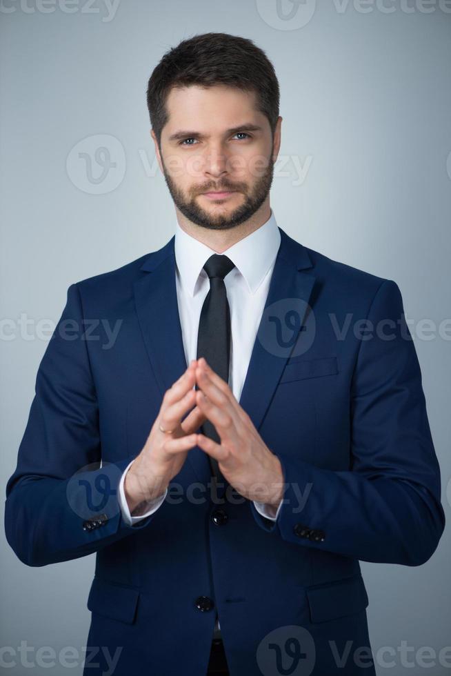 knappe jonge man foto