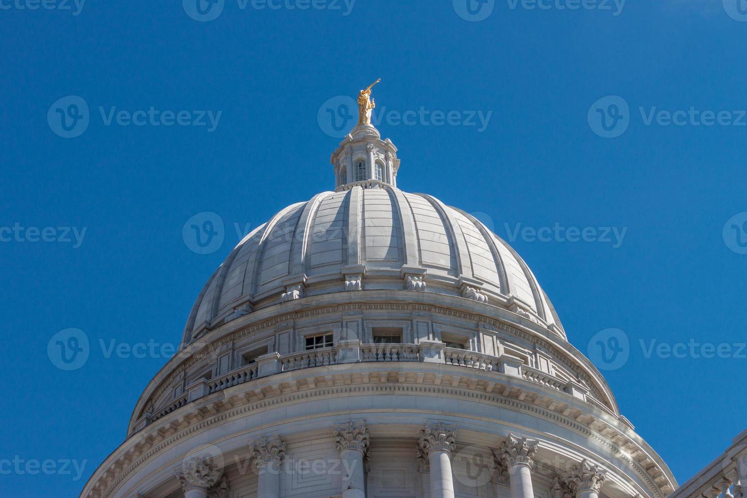de hoofdstad van Wisconsin foto