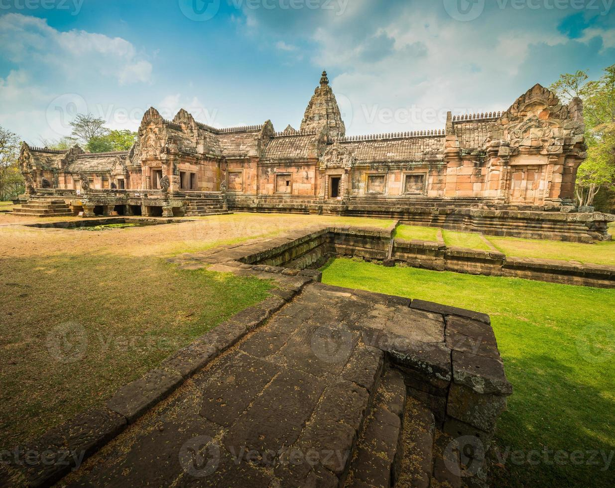 phanom rung historisch park foto
