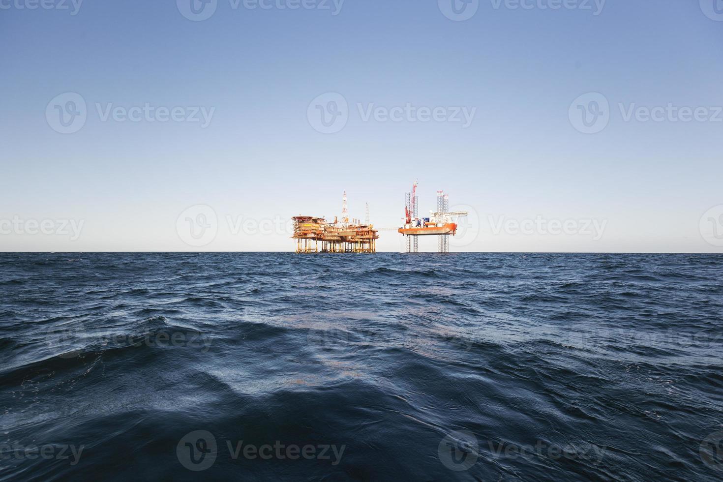 olie industrie foto
