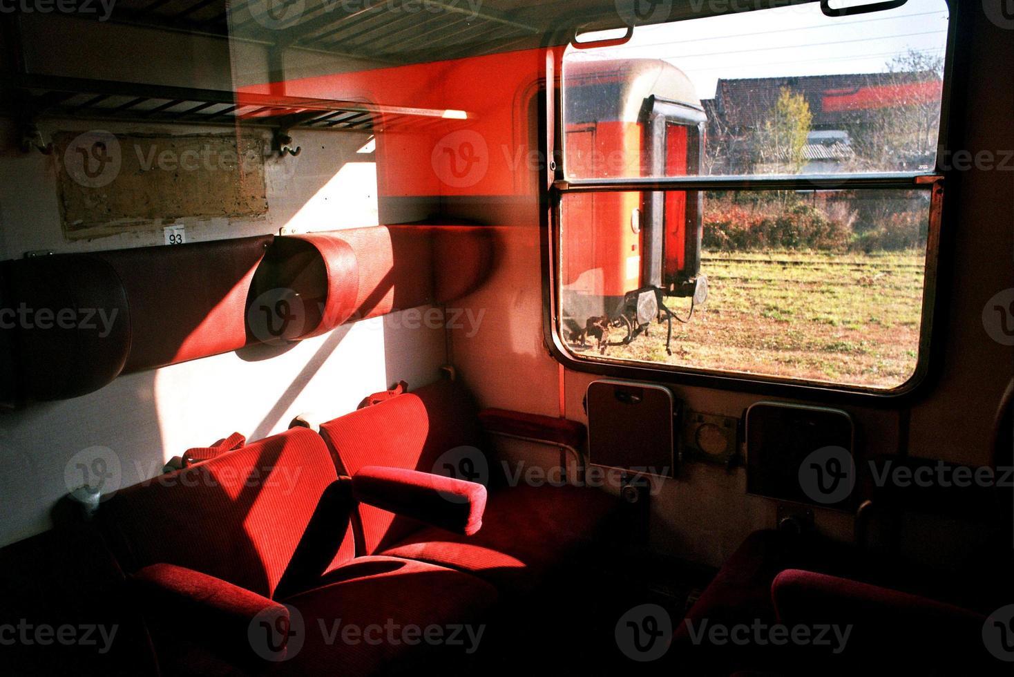 trein kerkhof foto