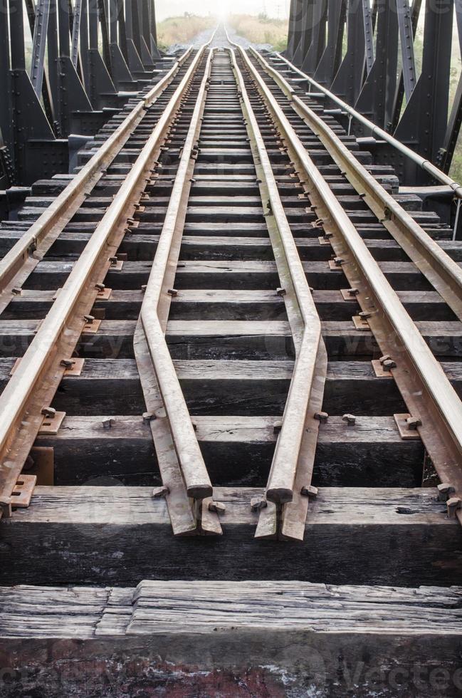 oude spoorlijn foto