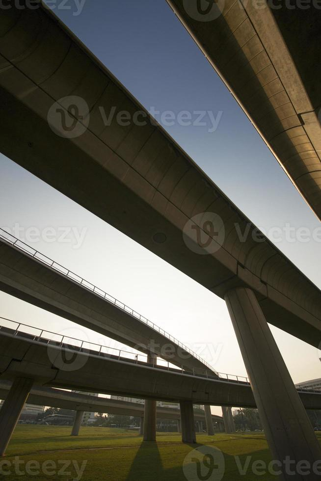 transport snelweg foto