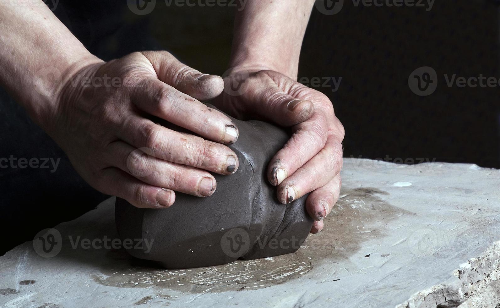 pottenbakker foto