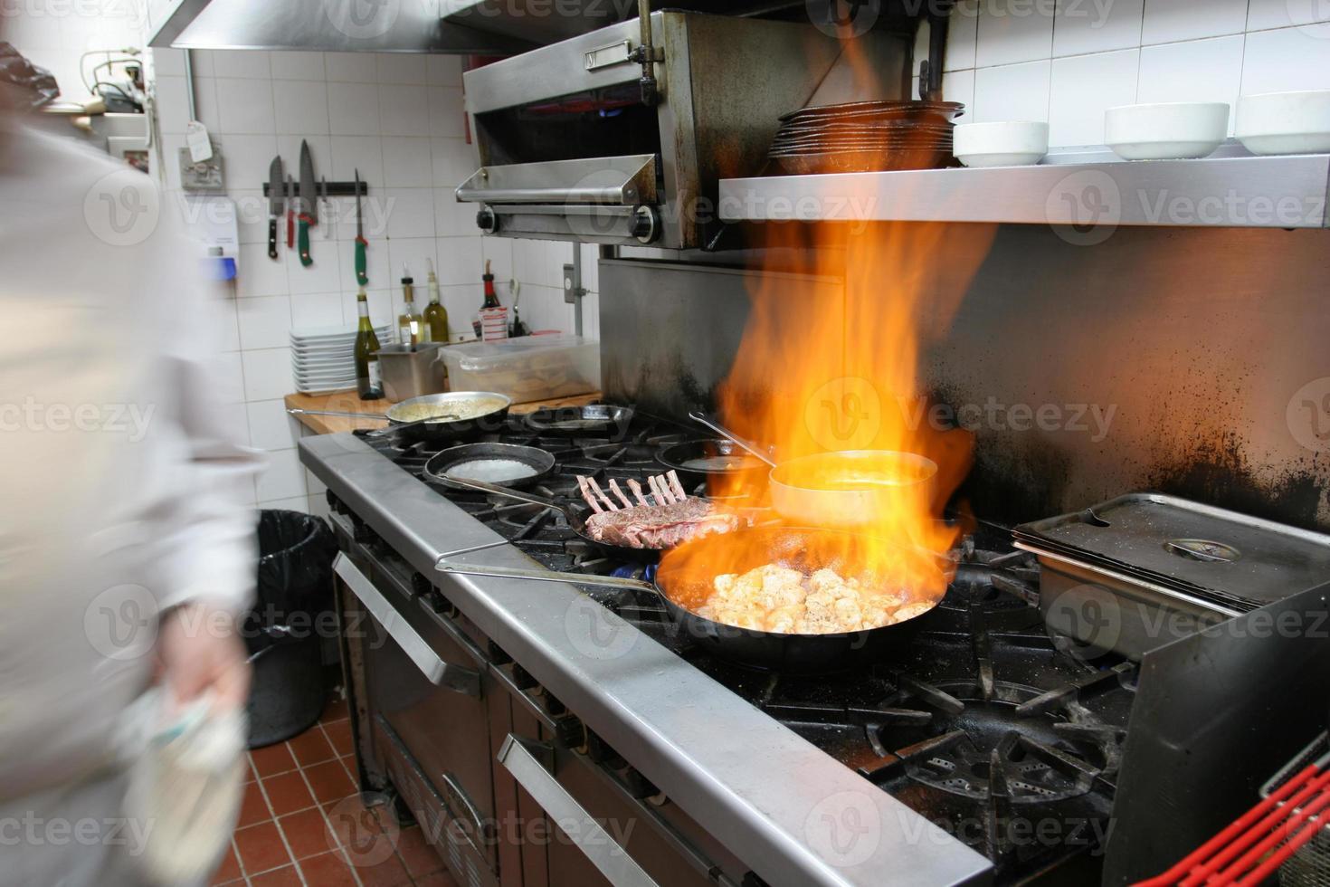 professionele restaurantkeuken, Canada foto
