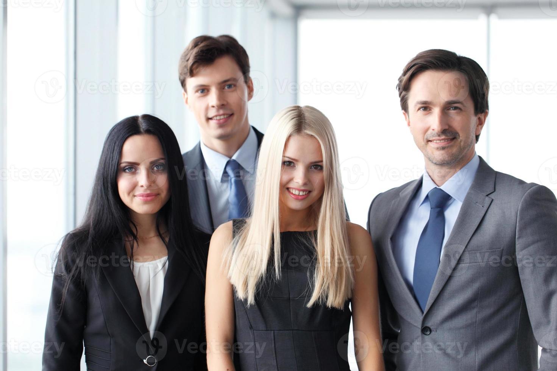 gelukkig commercieel team foto