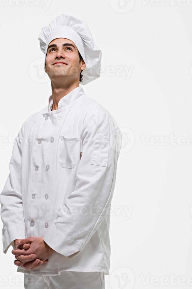 portret van een chef-kok foto