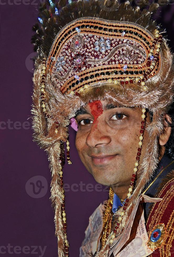 Indiase bruiloft foto