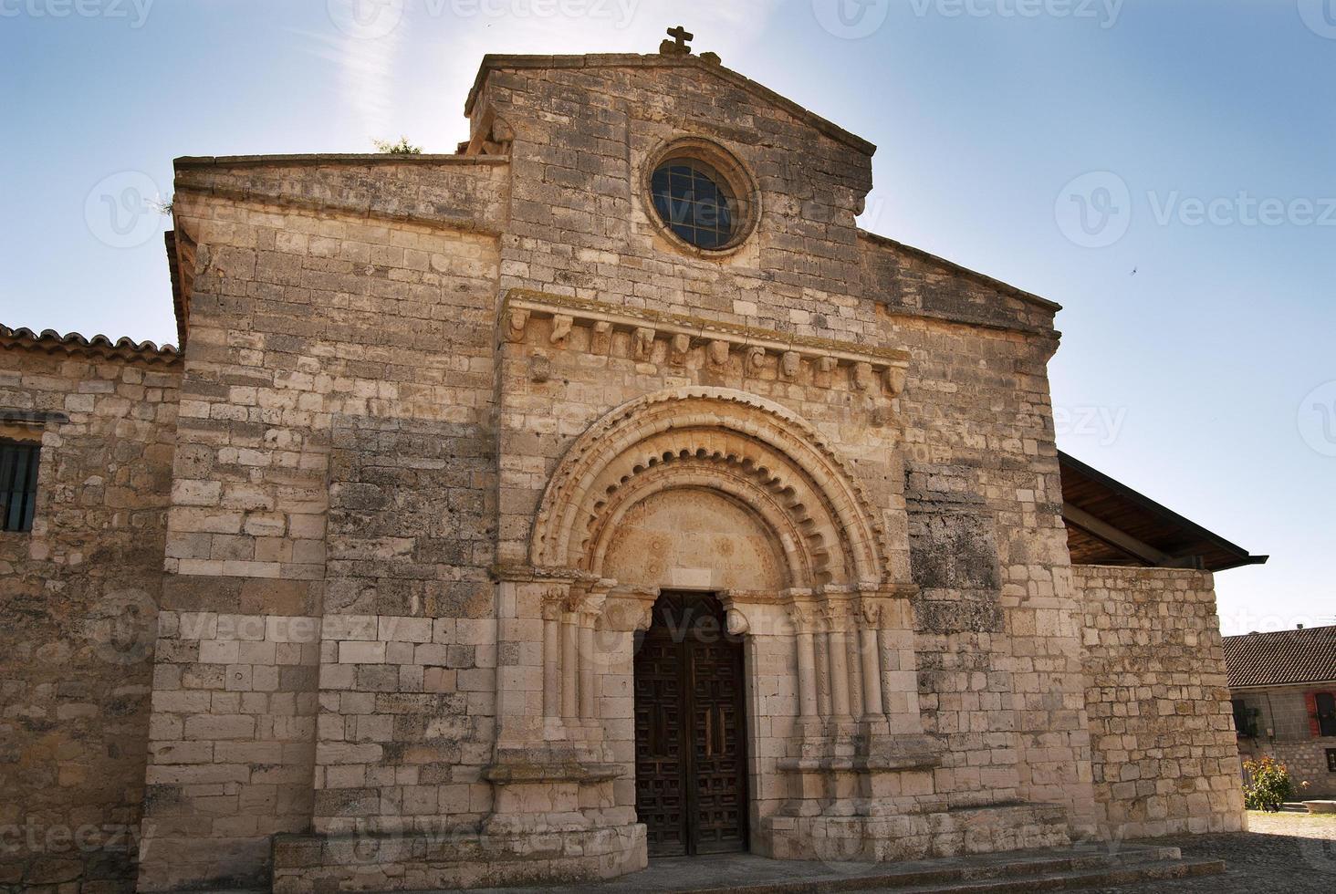 kerk van wamba in spanje foto