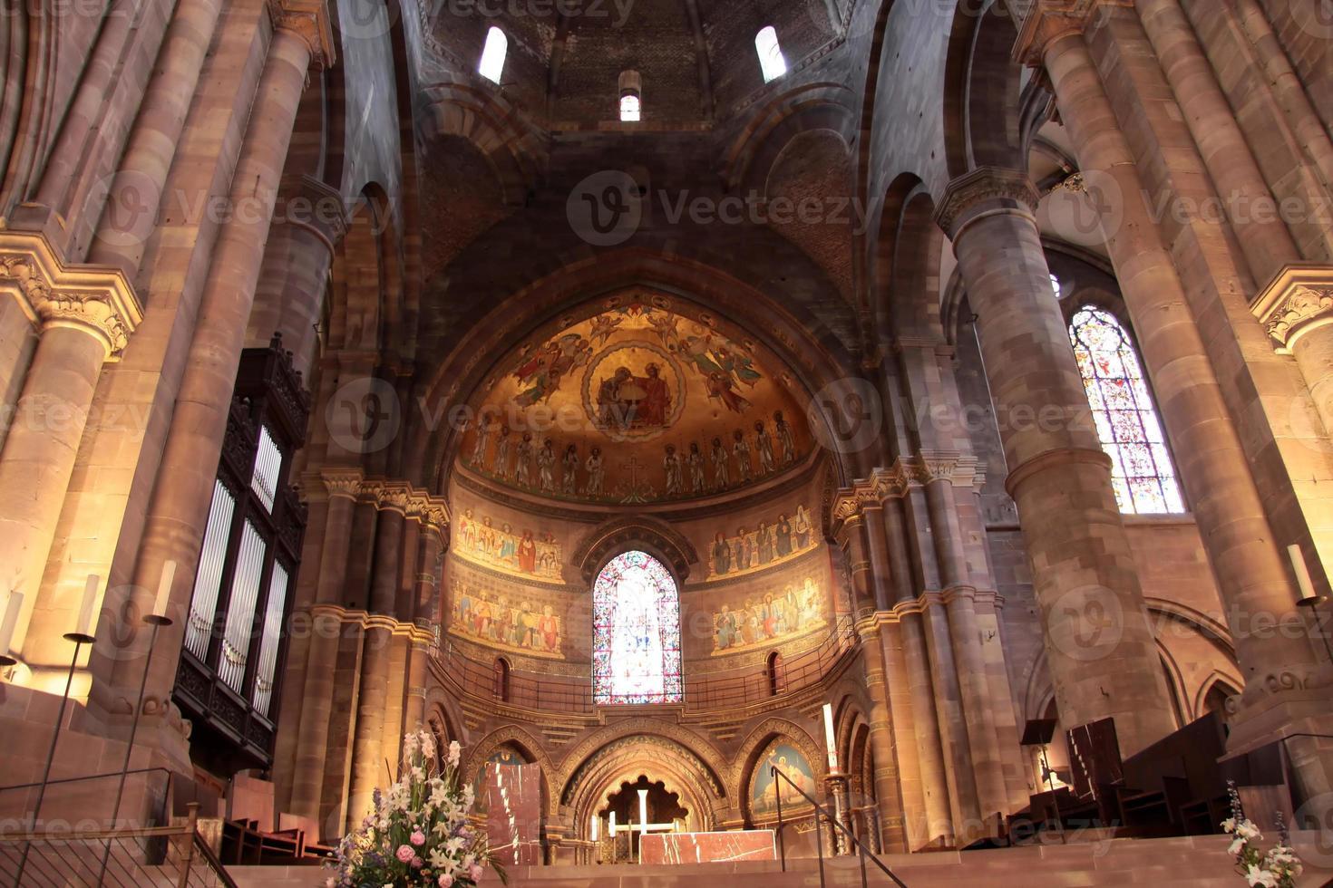 koor van de kathedraal van Straatsburg foto