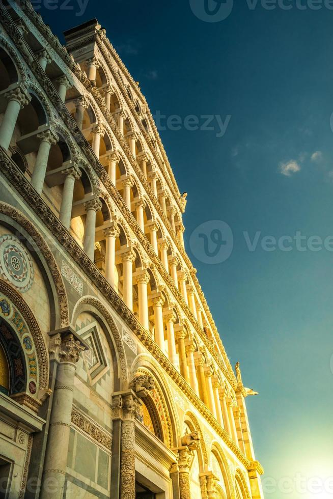 kathedraal in pisa, Italië foto