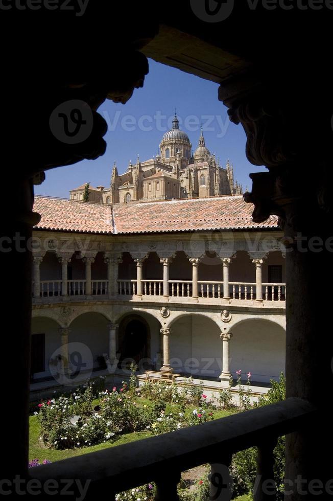 kathedraal van salamanca. Spanje foto