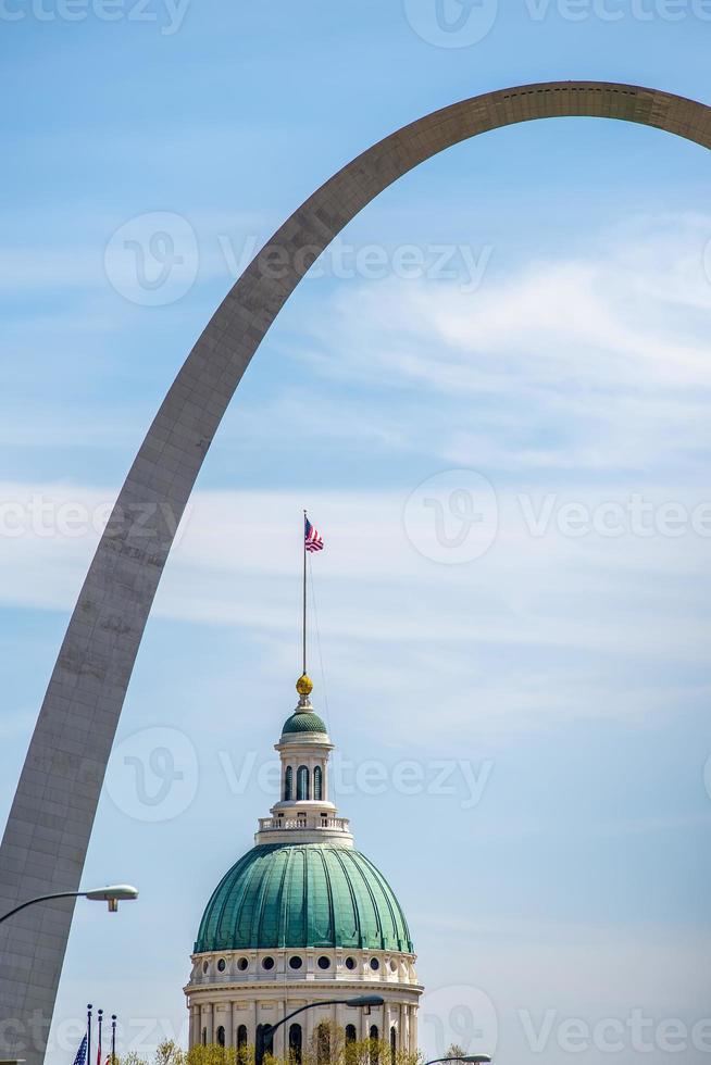 Saint Louis Missouri Downtown bij daglicht foto