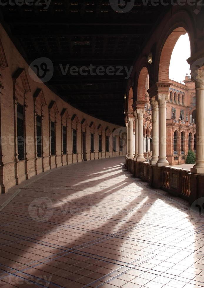 oude colonnade foto