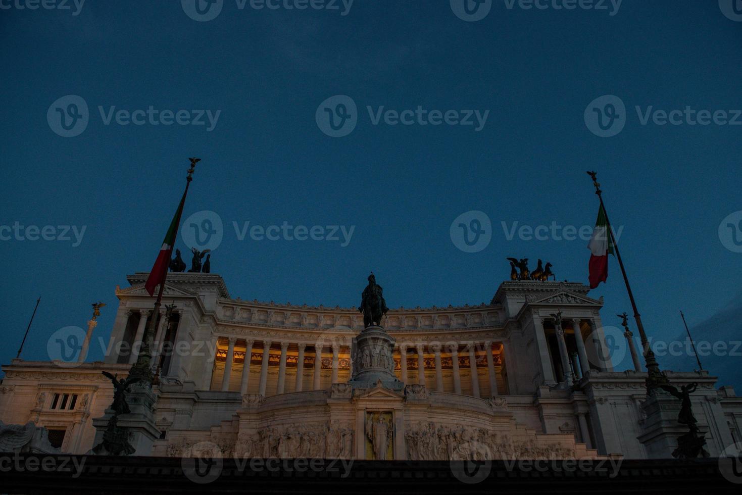 het altare della patria. foto