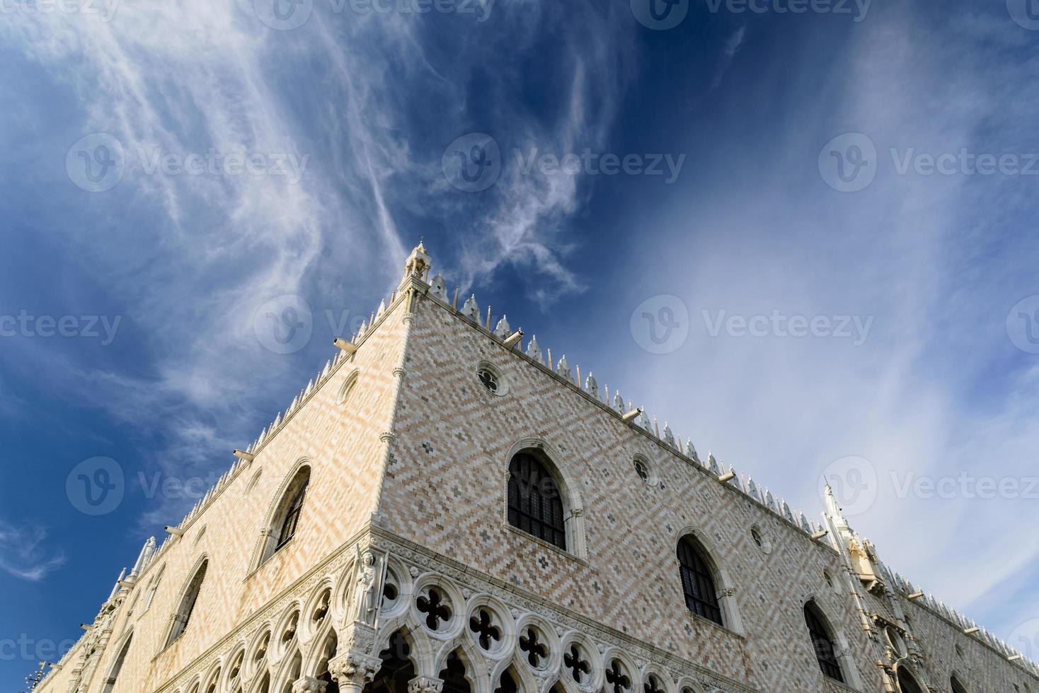 hemel over ontwijken paleis foto