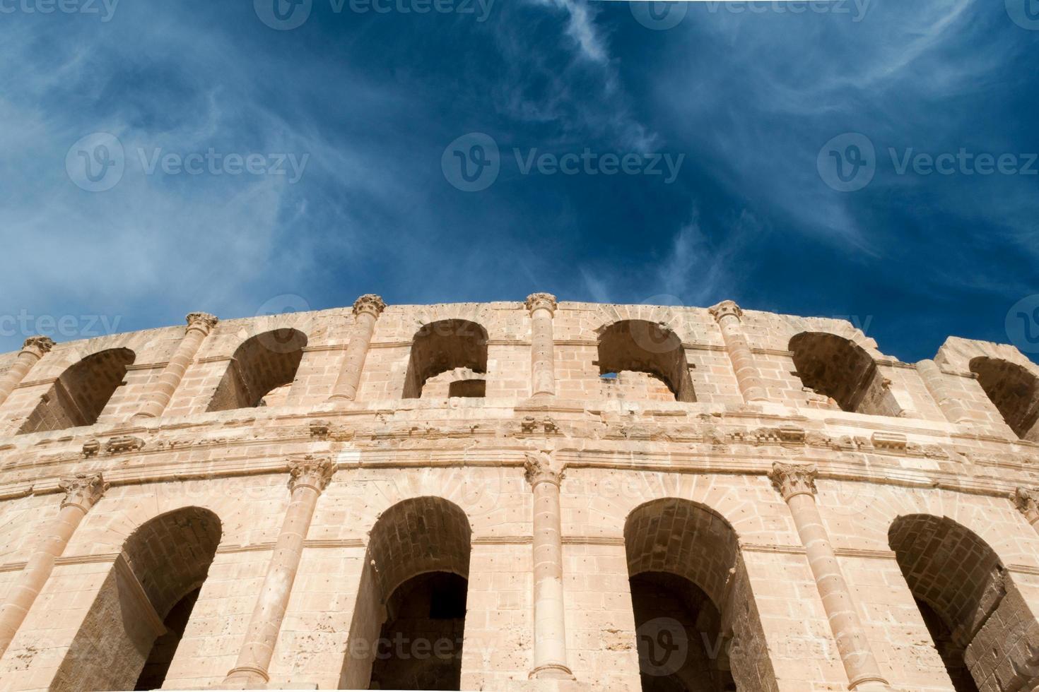 el djem amfitheater (6) foto