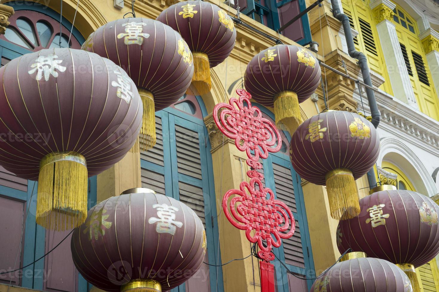 chinatown decoratie foto