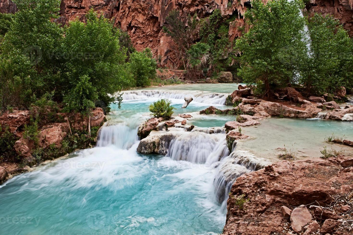 havasupai watervallen foto