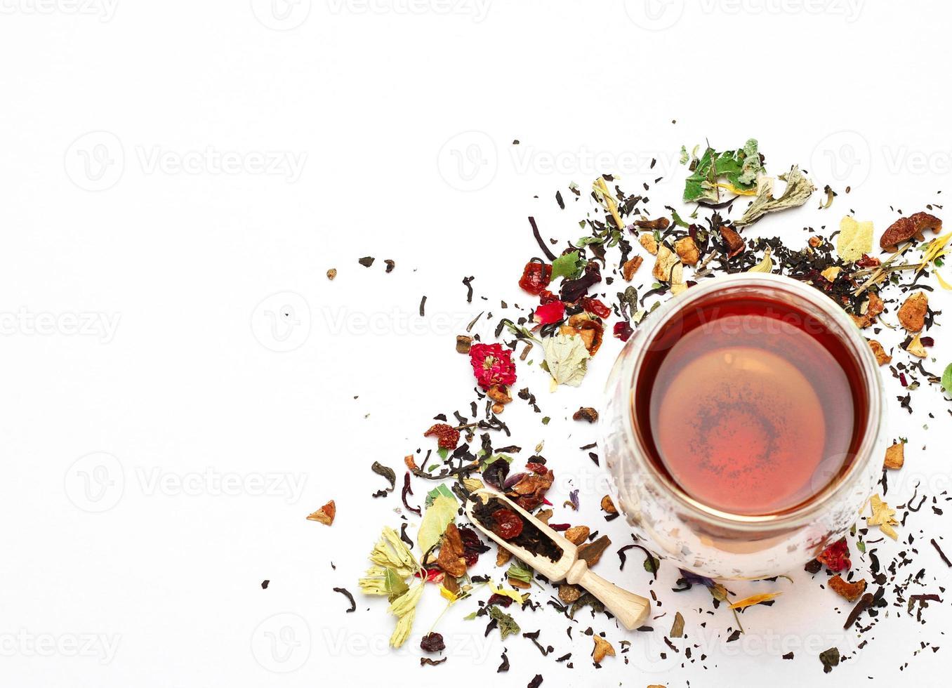 kruiden- en masala-thee foto
