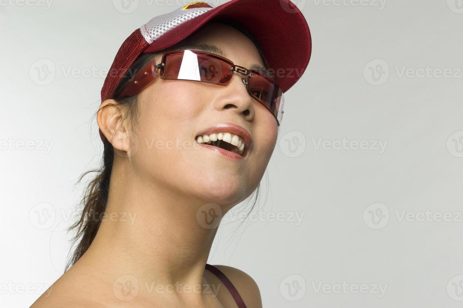 meisje lachend foto