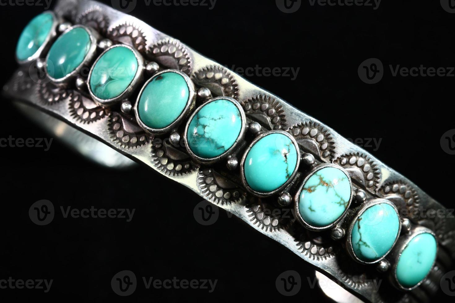 turquoise armband foto