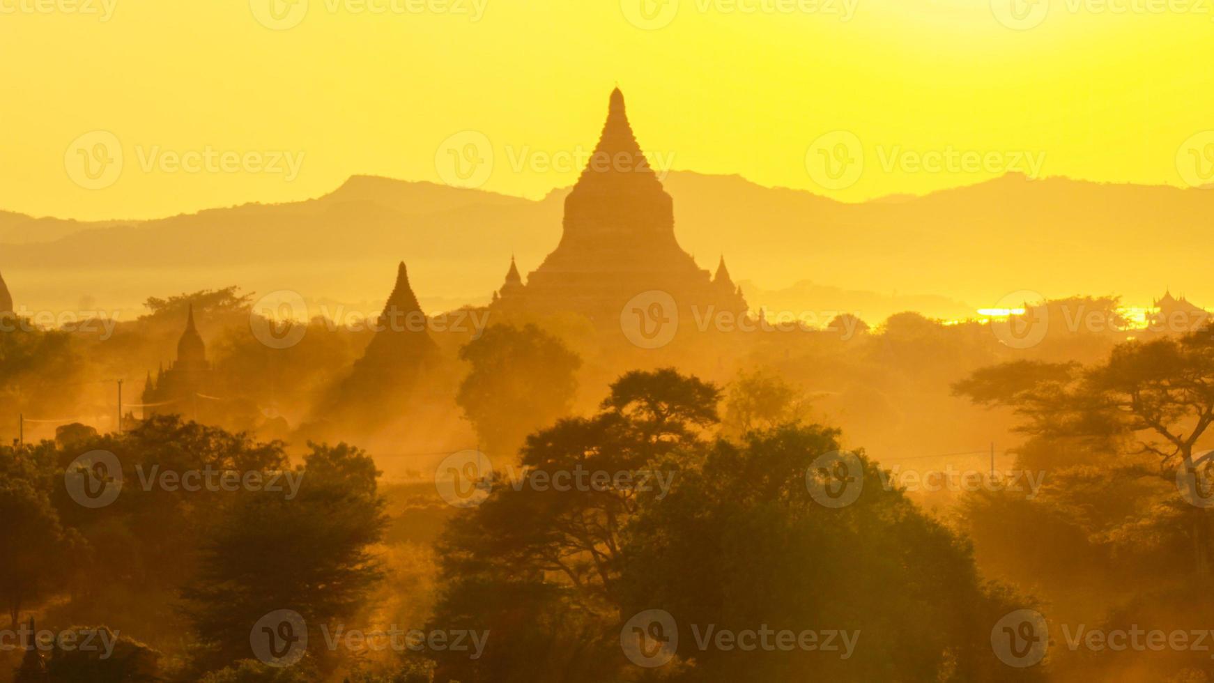 bagan tempels foto