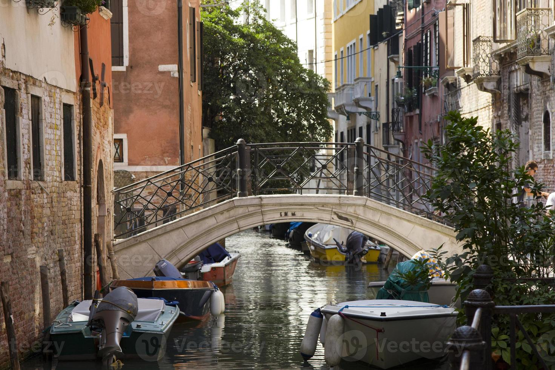 italië, venetië, kanalen, foto