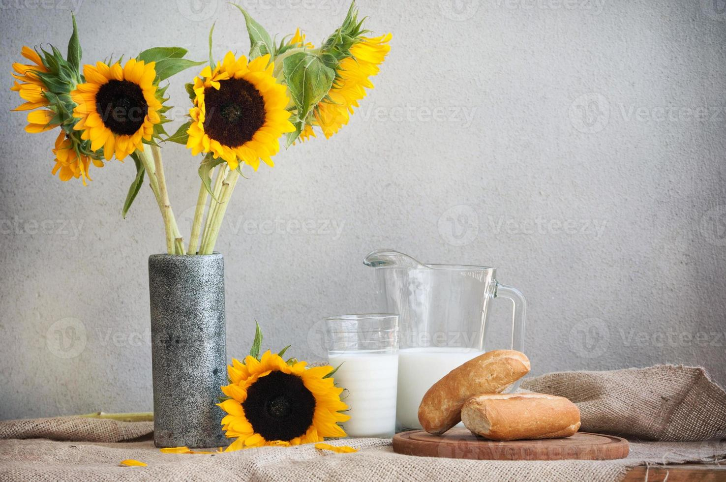 zonnebloemen foto