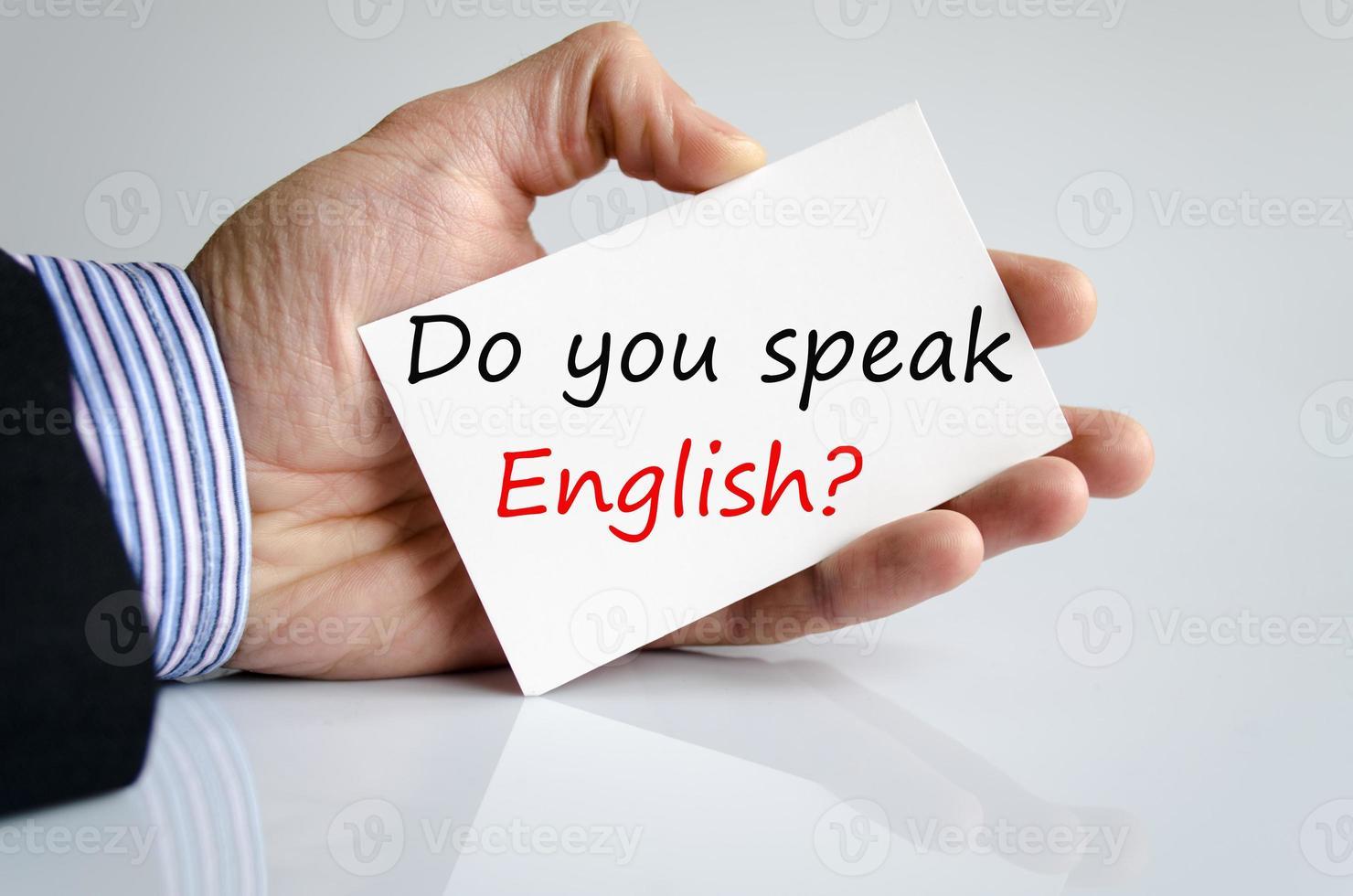 spreekt u Engels?? foto