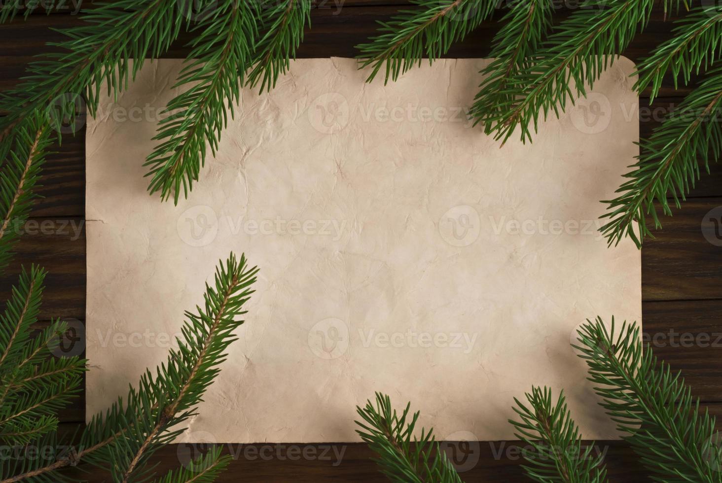 Kerst vintage achtergrond foto