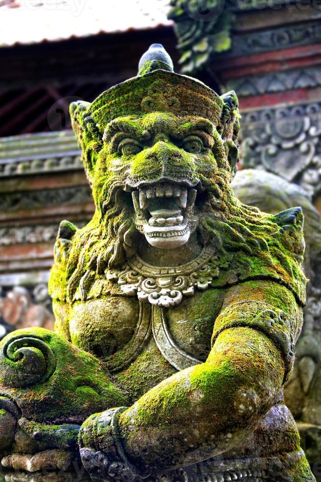 Balinees godsbeeld foto