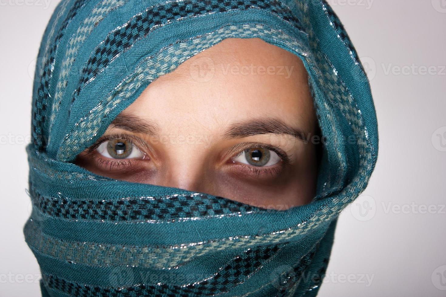 Europese moslimvrouw foto