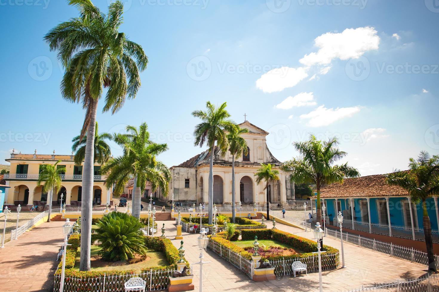 plaza burgemeester, trinidad foto