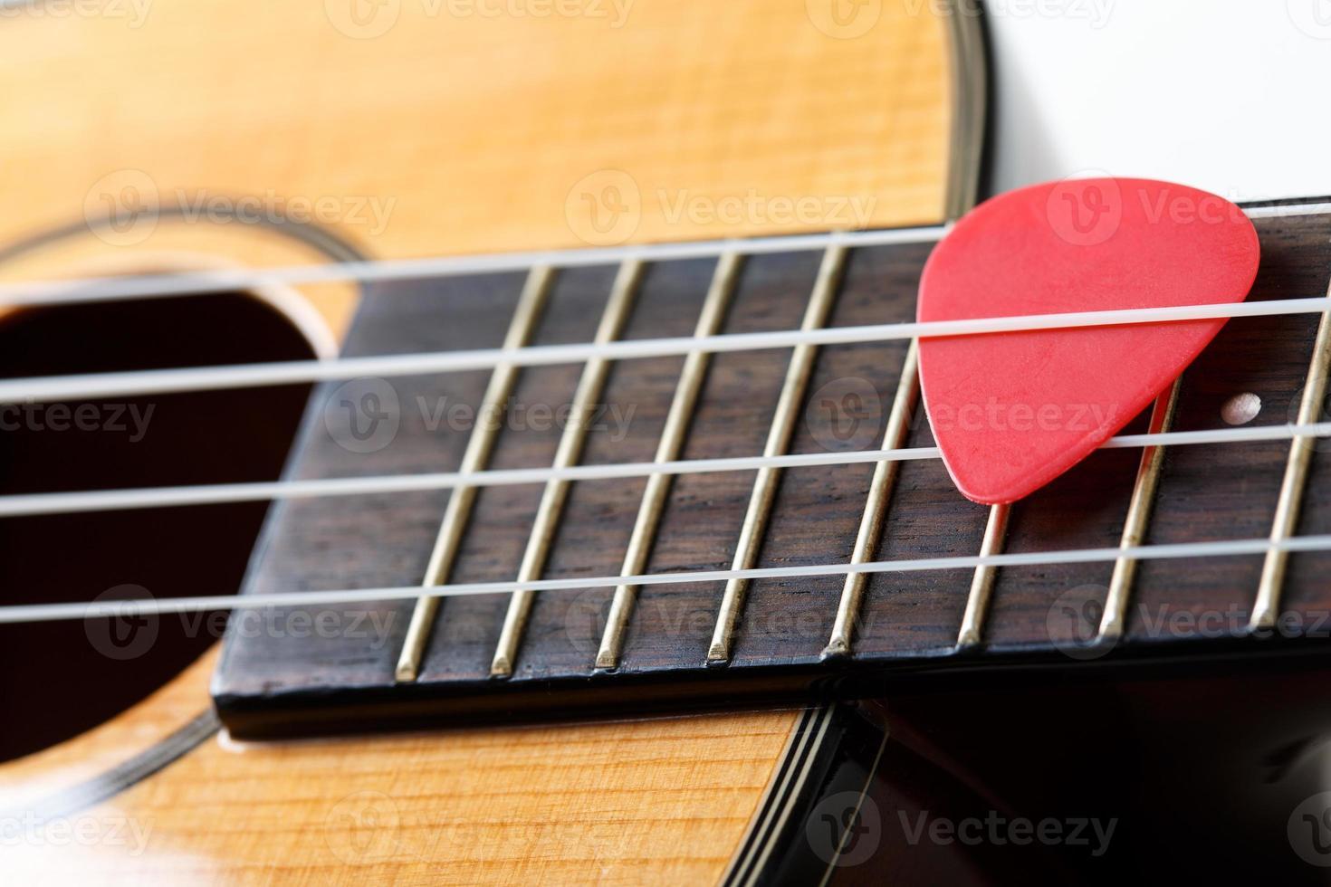 kleine Hawaiiaanse viersnarige ukelele gitaar foto