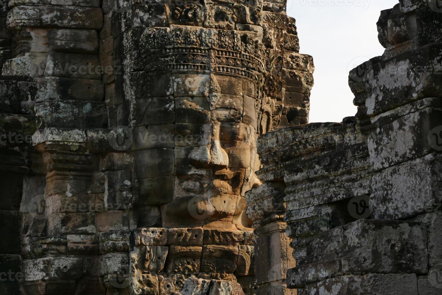 bayon tempel van angkor thom in kambodja foto