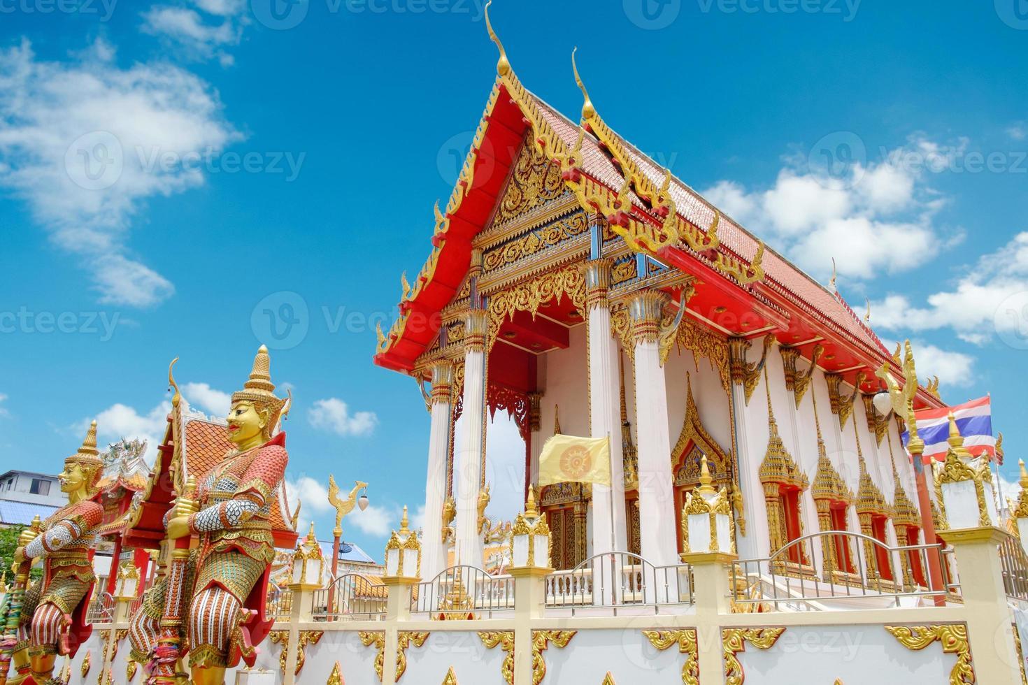 wat samakhitham openbare tempel in Bangkok Thailand foto